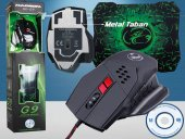 Gaming Oyun Mouse+mouse Pad Hdg9 25 Set