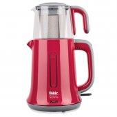 Fakir Teatime 2 İn1 Kırmızı Çay Makinası