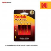 Kodak Max Alkalin Orta Pil 2 Adet