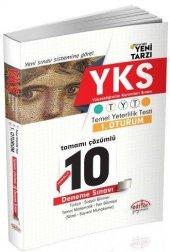 Editör Yayınları Yks 1. Oturum Tyt Fasikül Tamamı Çözümlü 10 D