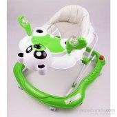Yürüteç Bebek Yürüteç Ünal Panda Müzikli Bebek Yürüteçi Stoperli Hoppala Örümcek Yeşil Ücretsiz Kargo