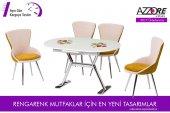 Mutfak Masası Takımı Çilek Desenli Mutfak Masası
