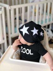 Babygiz Yıldız Desenli Şapka