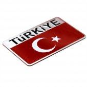 Modacar Metal Türkiye Bayrağı Arma Ücretsiz Kargo