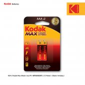 Kodak Max Alkalin İnce Pil 2 Adet