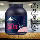 Multipower % 100 Whey Isolate (İzole) Protein 2000gr + 2 Hediye