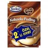 Kenton Puding Çikolata Aşki Kakaolu 2li (Prom)