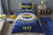 Taç Lisanslı Fenerbahçe Parlayan Güneş Tek Kişilik Nevresim Takımı