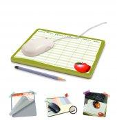 Mouse Pad Haftalık Kağıt Planer Sümen Elma