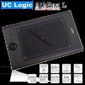 Uc Logıc Lapazz Athena L A5+pilsiz Kalemli Profesyonel 5080lpı Grafik Tablet Ucmna62