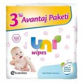 Uni Baby Wipes 3 Lü Islak Havlu Mendil