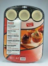 Kaiser 12li Muffin Kek Kalıbı 38x27 Cm