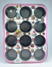Cake Zhi Gang 12li Muffin Kek Kalıbı