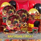 Bakugan Temalı Doğumgünü Seti