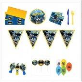 Batman Doğum Günü Parti Seti 8 Kişilik