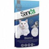 Sanicat Bianca Topaklaşan Kedi Kumu 5 Lt