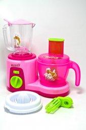 Barbie Mutfak Seti Oyuncak Mutfak Robotu Sesli Işıklı Oyuncak Sık