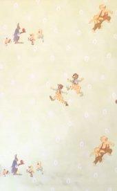 11.11 E Özel Ayıcıklı Çocuk Odası Duvar Kağıdı