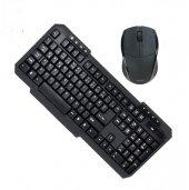 Wireless Kablosuz Mouse + Klavye Seti Set Pg 8012