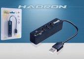 Hadron Hd159 200 Usb Hub 3 Port +tf & Sd Card Reader 1tb Uyumlu