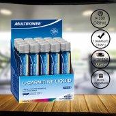 Multipower L Carnitine Liquid Forte 20 Shot Şeftali Aromalı + 3 Hediyeli