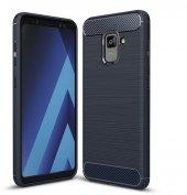 Galaxy A8 2018 Silikon Karbon Fiber Kılıf