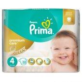 Prima Bebek Bezi Premium Care İkiz 4 Beden Maxi 35 Adet
