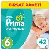 Prima Bebek Bezi 6 Beden 42 Adet Fırsat Paket