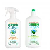 U Green Clean Bulaşık Deterjanı Ve Çok Amaçlı Yağ Çözücü Seti