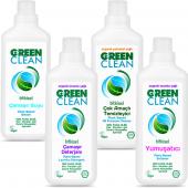 U Green Clean Çamaşır Yıkama Seti 4 Parça