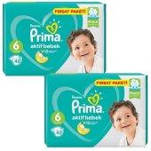 Prima Bebek Bezi 6 Beden 84 Adet Fırsat Paket