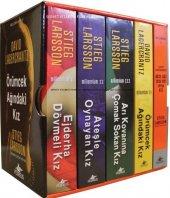 Millennium Serisi Kutulu Özel Set 5 Kitap Ciltli
