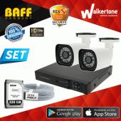 2 Kameralı Ahd Güvenlik Kamera Sistemi Harddisk Dahil Full