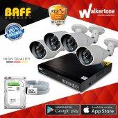4lü Ahd Kamera Sistemi 960p Full Tak Çalıştır Set