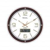 Regal8852 W Dijital Takvim 3d Kadran Duvar Saati