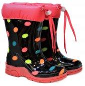 5 Model Yünlü Su Geçirmez Çocuk Yağmur Çizmesi Kar Botu 26 37