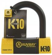 Auvray U Motosiklet Kilit Sra Lock K10 85x100