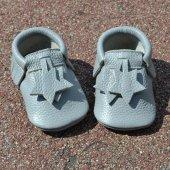 Yıldız Makosen Bebek Ayakkabı Gri Cv 314