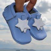 Yıldız Makosen Bebek Ayakkabı Mavi Cv 331