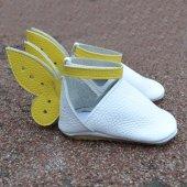Sindy Makosen Tabanlı Bebek Ayakkabı Beyaz Cv 425