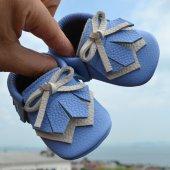 Navaho Makosen Bebek Ayakkabı Mavi Cv 139