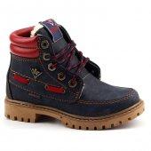 Waykers 7215 Günlük Fermuarlı Erkek Çocuk Bot Ayakkabı