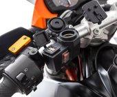 Motorsiklet Çakmak Girişi + Usb Şarj + Çakmaklık