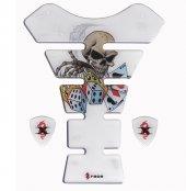 Tankpad Gambit Skull Xrace Tank Pad