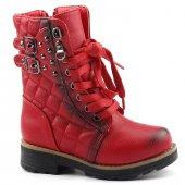 Osaka Kids 1816 Termo Taban Fermuarlı Kız Çocuk Bot Ayakkabı