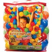 Oyun Ve Havuz Topu 100 Adet 9 Cm