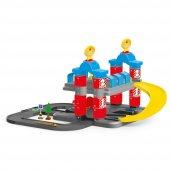 Oyuncak Otopark Seti 2 Katlı Garaj Oyuncak Seti Dolu Oyuncak Otop