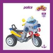 Police Akülü Motosiklet (400)