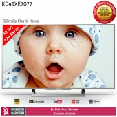 Sony Kd49xe7077 4k Uhd Uydulu Led Tv