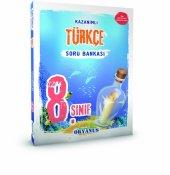 8.sınıf Türkçe Kazanımlı Soru Bankası Okyanus Yayıncılık